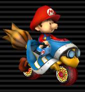MKWii-Baby Mario Magikruiser
