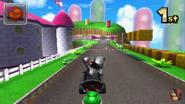 Mario Circuit 3DS Trick