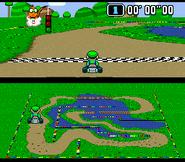 SMK Donut Plains 3 Luigi Time Trial