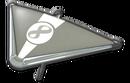 MK8 Metallic Gray White Super Glider