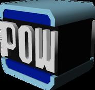 POW Block Model - Mario Kart Wii