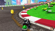 Mario Circuit 3DS Second Turn