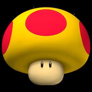 Mega Mushroom Icon - Mario Kart Wii