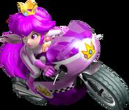 Poisonetta Mushroomette On Mach Bike - Mario Kart Insanity