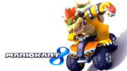 Mario Kart 8 Title Screen (Bowser)