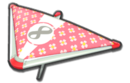 MK8 Pink White Flowers Super Glider