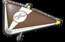 MK8 Brown White Super Glider
