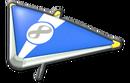 MK8 RoyalBlue White Super Glider