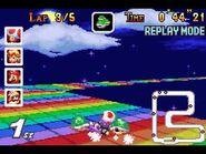 MKSC SNES RainbowRoad 1