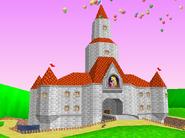 Peach's Castle 64