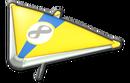 MK8 Yellow RoyalBlue Super Glider
