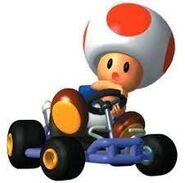 Toad in Mario Kart 64