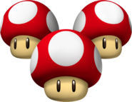 Triple Mushrooms - Mario Kart Wii