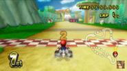 Mushroom Gorge Wii Starting Line