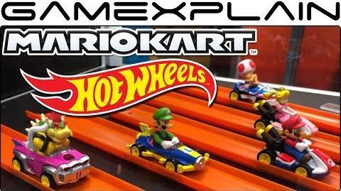 Close-Up Look at the Mario Kart Hot Wheels Toys! (SDCC 2018)-0