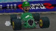 Mario Kart DS (Wii U VC) Mirror Shell Cup - 3 Star Ranking (Luigi Gameplay)