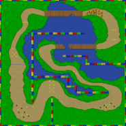 SNES Donut Plains 3