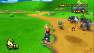 Mario Passing The TC To Bowser