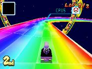 MKDS Dry Bones Rainbow Road