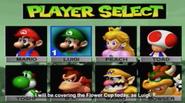 MK64 character select