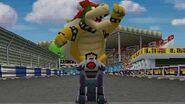 Mario Kart DS (Wii U VC) Mirror Leaf Cup - 3 Star Ranking (Bowser Gameplay)