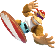 Donkey Kong Country Tropical Freeze - Funky Kong