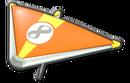 MK8 Orange Yellow Super Glider