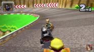 Mario Circuit 3DS Rosalina Metal Mario and Wario