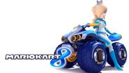 Mario Kart 8 Title Screen (Rosalina)