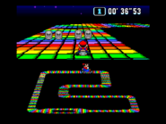SMK SNES Rainbow Road 1