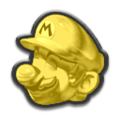 MK8DX Gold Mario Icon