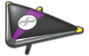 MK8 Black Purple Super Glider