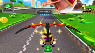 Toad Circuit 3DS Gliding