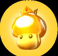 Golden Mushroom - Mario Kart Double Dash
