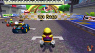 Toad Circuit 3DS Starting Line