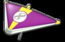 MK8 Purple Yellow Super Glider