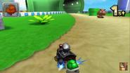 Mario Circuit 3DS Big Goomba