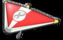 MK8 Red White Super Glider