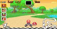 MKSC SNESDonutPlains3 Mario