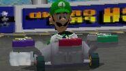 Mario Kart DS (Wii U VC) Mirror Flower Cup - 3 Star Ranking (Luigi Gameplay)