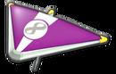 MK8 Purple White Super Glider