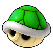 Green Shell Icon - Mario Kart Wii