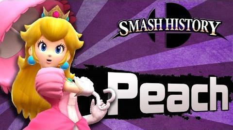 Smash History Princess Peach (Super Smash Bros 3DS and Wii U Gameplay Analysis)