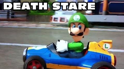 "Mario Kart 8 - Luigi ""Death Stare"" Compilation"