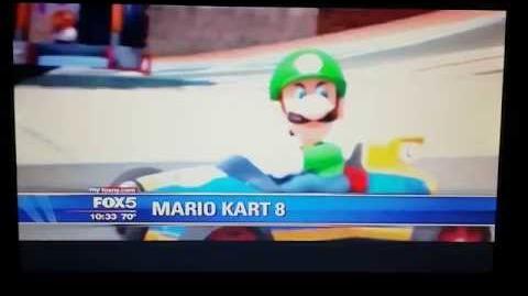 """Mario Kart 8 - Luigi """"Death Stare"""" on Fox News!"""