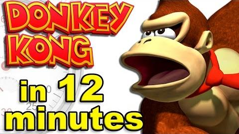 The Complete History of Donkey Kong - A Brief History