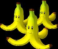 Triple Bananas Artwork - Mario Kart Wii