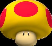 Mega Mushroom - Mario Kart Wii