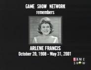 Arlene Francis Tribute 2