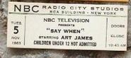 Say When!! (November 05, 1963)
